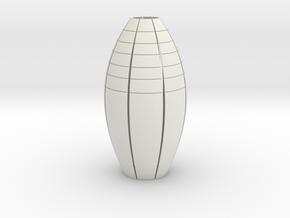 Kitchen lamp shade in White Natural Versatile Plastic