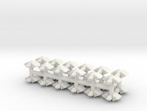 PH002 Byraxin Raider (24) in White Natural Versatile Plastic