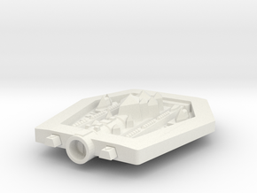 PH308A Itorkat Troop Ship in White Natural Versatile Plastic