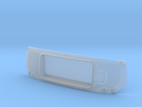 HMD Frunk - clear in Smooth Fine Detail Plastic