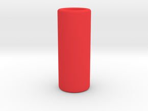 Full padded measure in Red Processed Versatile Plastic