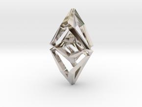 HEAD TO HEAD Unicat, Pendant  in Platinum