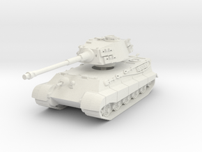 Tiger II H (skirts) 1/56 in White Natural Versatile Plastic