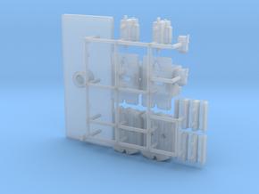 1:8 Dash Connectors for Eaglemoss Delorean in Smoothest Fine Detail Plastic