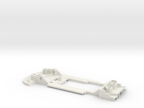 1/32 Carrera Porsche 911 RSR Chassis slot.it pod in White Natural Versatile Plastic