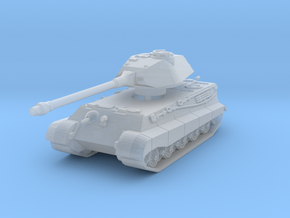 Tiger II P (Skirts) 1/160 in Smooth Fine Detail Plastic