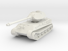 Tiger II P (no Skirts) 1//87 in White Natural Versatile Plastic