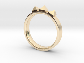 Edwardian Crown Ring - Sz. 7 in 14K Gold