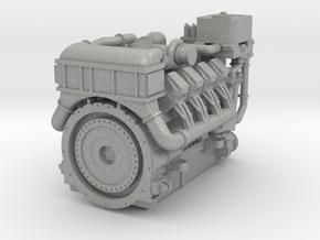 1380HP V8 Diesel Turbocharged Industrial Engine in Aluminum: 1:48 - O