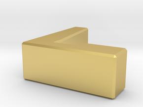 手機架2.0 in Polished Brass