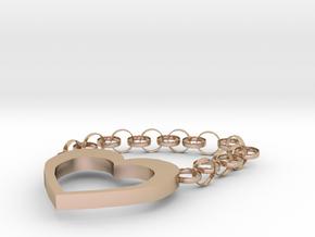 key ring in 14k Rose Gold