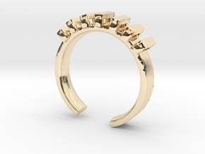 Lord Shackle Ring - Sz. 6 in 14K Yellow Gold