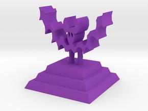 Bat king in Purple Processed Versatile Plastic