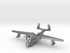 US Martin PBM5 Mariner seaplane bomber 1:600 WW2 in Natural Silver