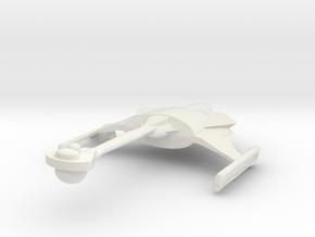 2500 Klingon D-9 class in White Natural Versatile Plastic