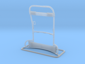 Lightweight Rucksack Frame 120mm in Smoothest Fine Detail Plastic