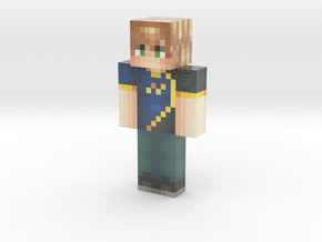RapidPixels   Minecraft toy in Glossy Full Color Sandstone