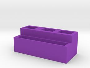 Family in Purple Processed Versatile Plastic
