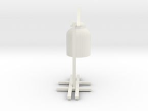 very cool table lamp in White Natural Versatile Plastic: Small