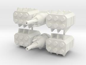 Orbital-Platform-2 in White Natural Versatile Plastic