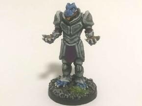 Dragonborn Eldritch Knight in Smooth Fine Detail Plastic