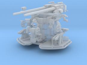 37 mm Flak C/30 auf Zwillingslaffette scale 1:100 in Smooth Fine Detail Plastic