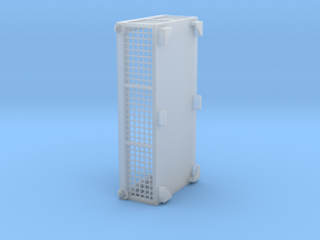 Gitterbox 120x240x60 crane rope box in Smoothest Fine Detail Plastic