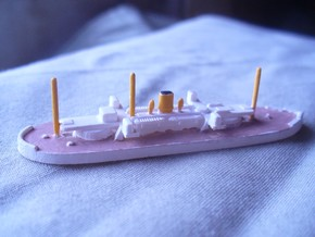 1/1250 Javary Class Coast Defence Battleship in Smooth Fine Detail Plastic