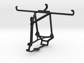Controller mount for Steam & Oppo Reno3 - Top in Black Natural Versatile Plastic
