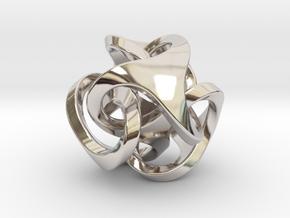 Ora Pendant (smaller) in Platinum