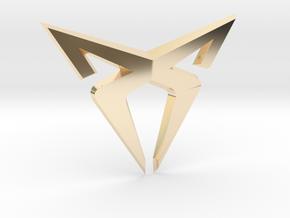 Cupra Logo (Medium) in 14K Yellow Gold