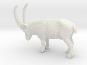 African Antelope Grazing in White Natural Versatile Plastic: 1:48 - O