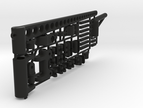 "RIG SET for Micromagic ""6 mm mast"" in Black Natural Versatile Plastic"