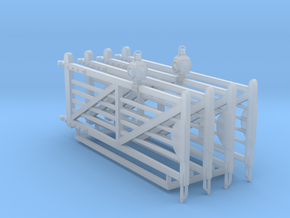 EP45 12ft6 NSR crossing gates in Smooth Fine Detail Plastic