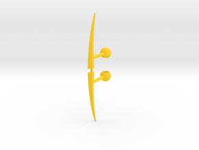 Acroscythe Weapons in Yellow Processed Versatile Plastic