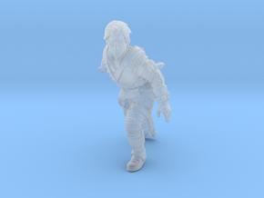 Fallen Knight in Smooth Fine Detail Plastic