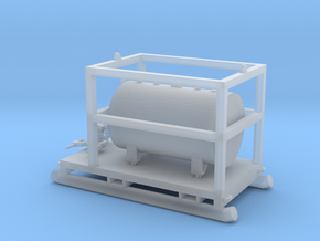 1:50 350 Gallon skid fuel tank in Smooth Fine Detail Plastic
