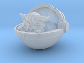 spacebaby in Smooth Fine Detail Plastic