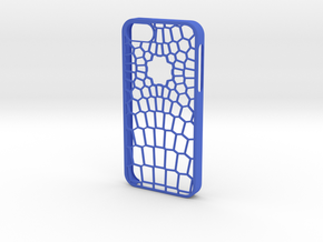 Vertex IPhone 5/5s Case in Blue Processed Versatile Plastic