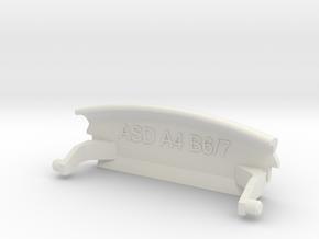 Audi A4 B6 armrest lid standart in White Natural Versatile Plastic
