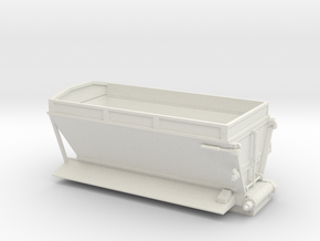 1/50th Etnyre live bottom straight truck body in White Natural Versatile Plastic