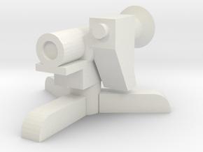 MILAN ATGM 1/43 in White Natural Versatile Plastic