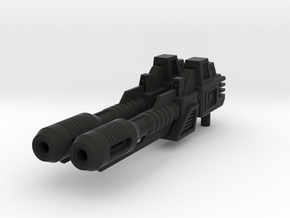 [Universal] CW/UW Defensor Fireball Cannons in Black Natural Versatile Plastic