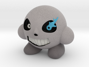 Sans-Kirby Alternate (Grey) in Natural Full Color Sandstone: Extra Small