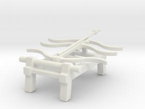 Chinese siege weapons song dynasty triple bow cros in White Natural Versatile Plastic