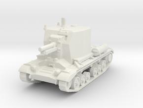 Bishop Tank 1/120 in White Natural Versatile Plastic