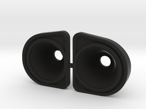 Axial UMG10 Headlight buckets in Black Natural Versatile Plastic