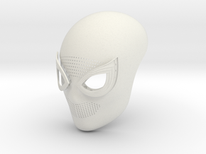 Spiderman Homecoming Face Shell in White Natural Versatile Plastic