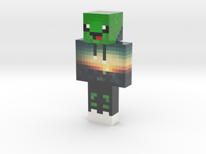 Block_owen   Minecraft toy in Glossy Full Color Sandstone