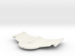 2500 Romulan V-6 Gallant Wing class in White Natural Versatile Plastic